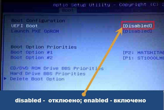 Как переустановить windows 7 через bios
