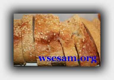 хлеб порезан слайсером