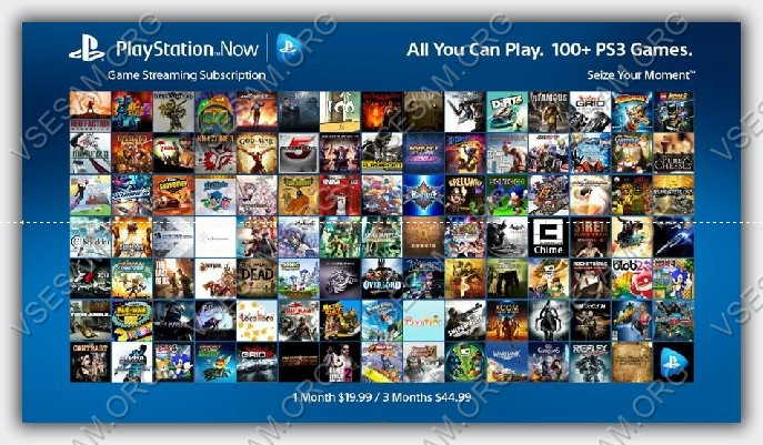 PlayStation в телевизоре