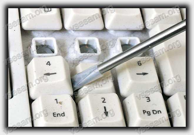 снять и почистить кнопки в ноутбуке асер в домашних условиях