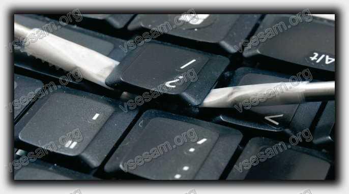 снять кнопку в ноутбуке sony vaio в домашних условиях