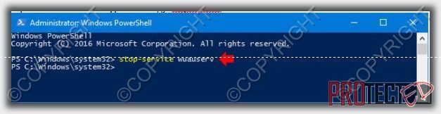 отключить update windows 10 1703 через командная строка