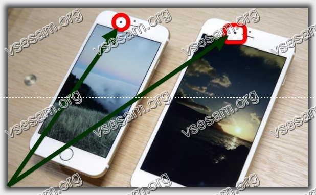 не работает датчик приближения iphone 6 s