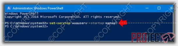 отключить update windows 10 2018 через командная строка