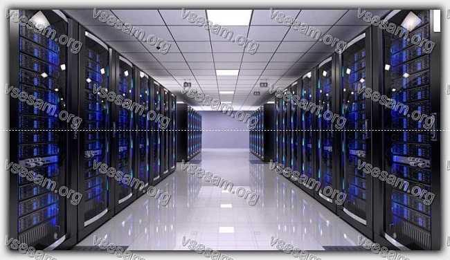 комната colocation серверов
