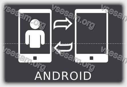 перенести фото с андроида на андроид