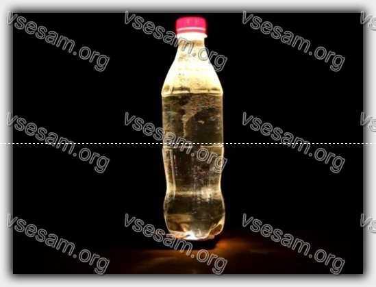 бутылка как лампа