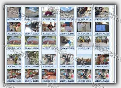 восстановленные фото и видео с поврежденной карты sd