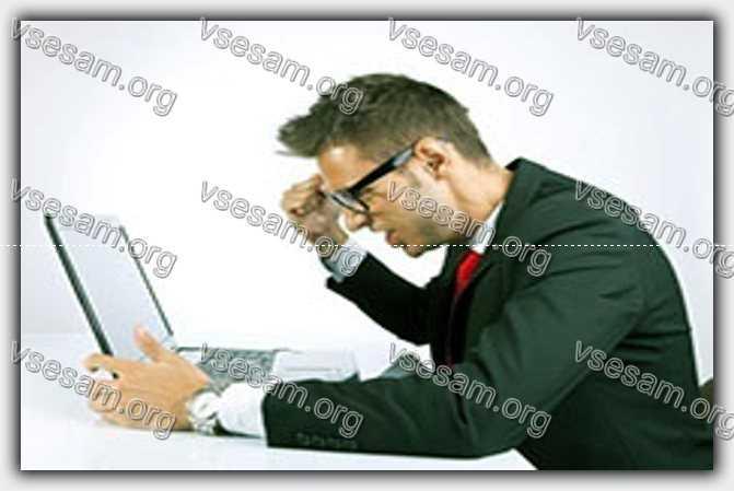черный экран в ноутбуке и не включается