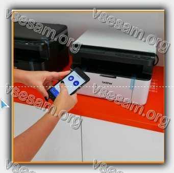 Hp принтер и телефона samsung