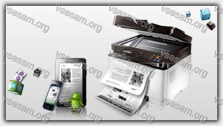 печатать фото с помощью телефона