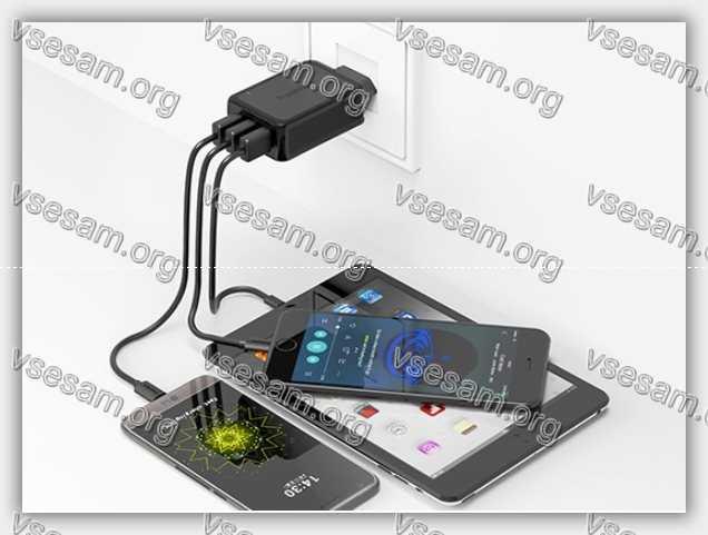 новый телефон xiaomi 5 на зарядке