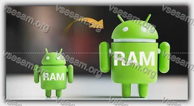 РАМ андроид
