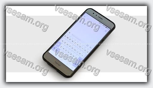 клавиатура на смартфоне андроиде