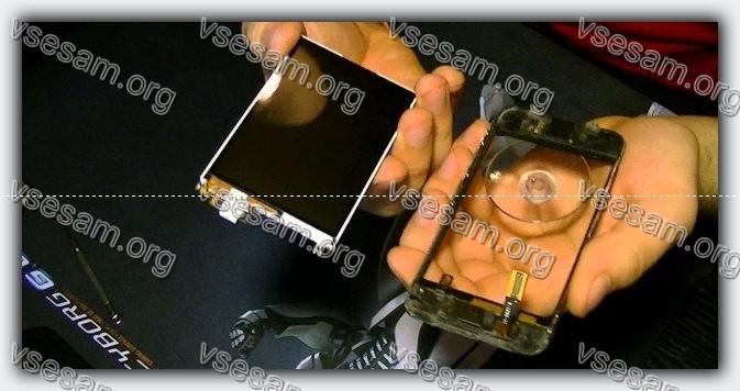 сенсор и телефон