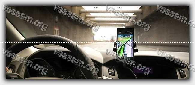 смартфон в автомобиле
