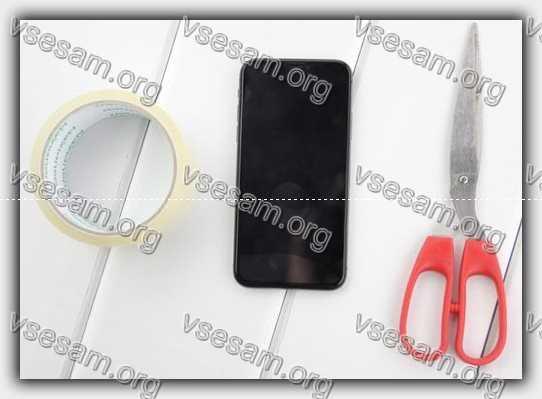 инструменты убрать воздух под защитным стеклом телефона