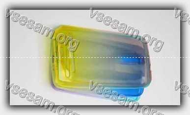 пожелтел прозрачный силиконовый чехол