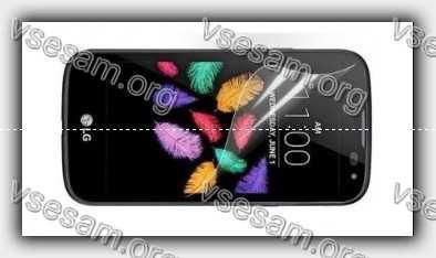 снятие пленки с экрана смартфона