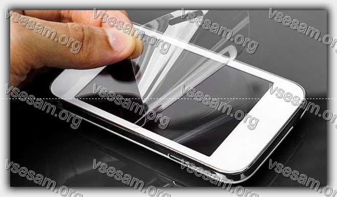 снятие пленки с экрана телефона самсунг