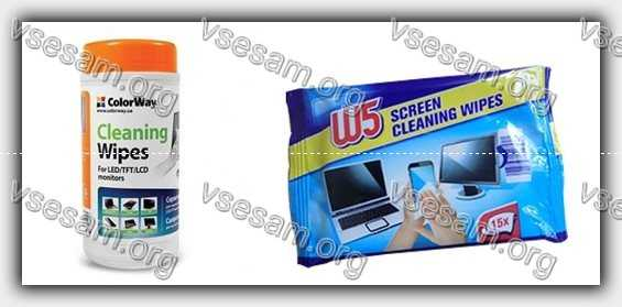 чистящие средства для сенсорных экранов
