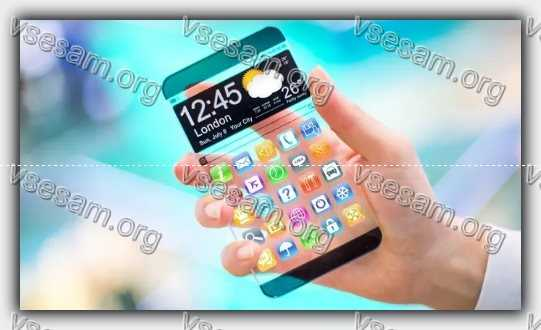 смартфон с прозрачным корпусом
