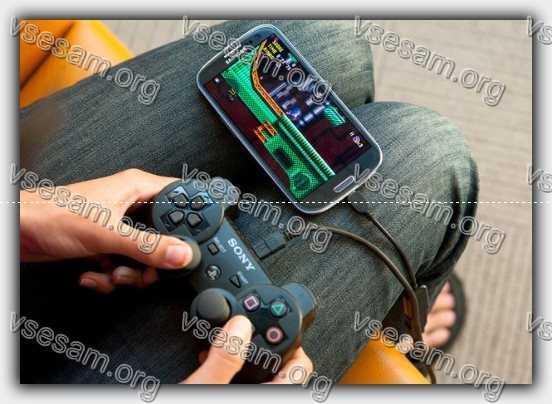 соединение геймпада со смартфоном через USB OTG