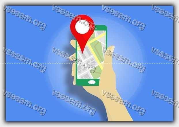 карты гугл в смартфоне