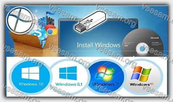 ОС windows 7 и windows 10