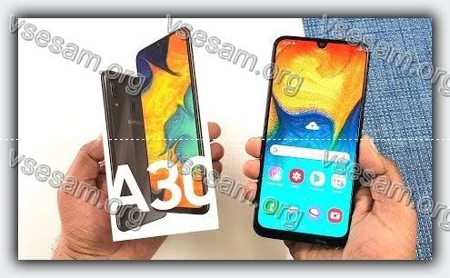 samsung андроид а30