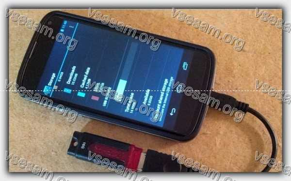 телефон андроид видит флешку ntfs