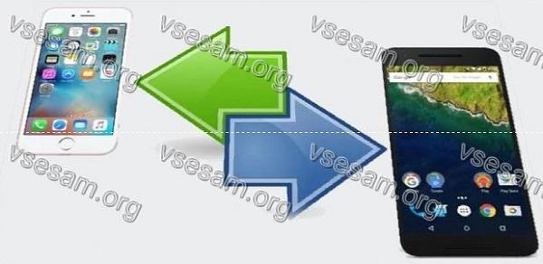 перенести все данные с айфона на самсунг а50