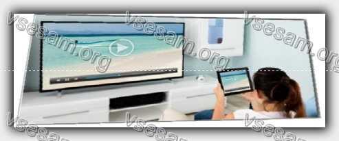 просмотр телевизора самсунг через планшет