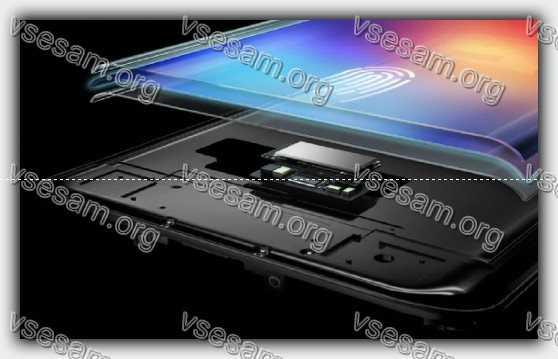 сканер отпечатка в телефоне