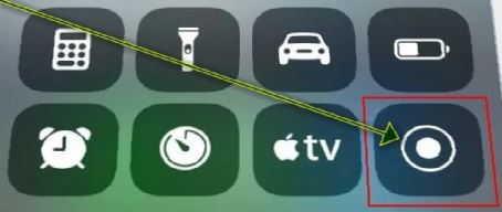 включить запись экрана на iphone 7 plus