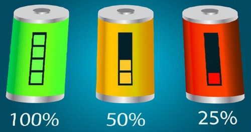 процент зарядки