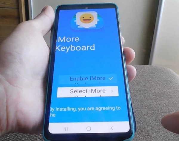 настроить iMore на андроид 10