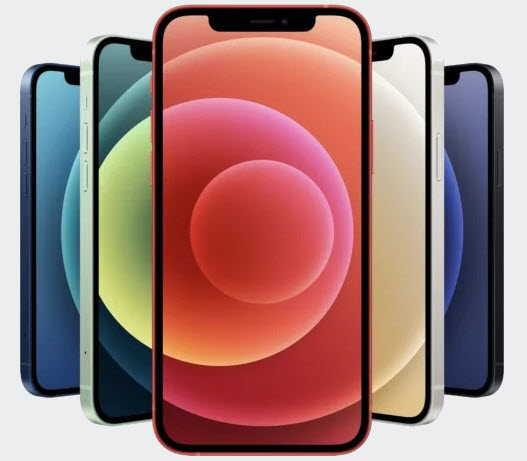 разные цвета iPhone 12 mini