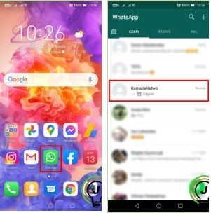 включить whatsapp