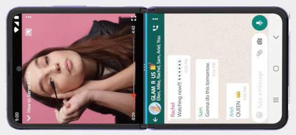 андроид 11 сделать 2 экрана