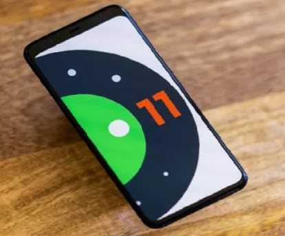 телефон с андроид 11