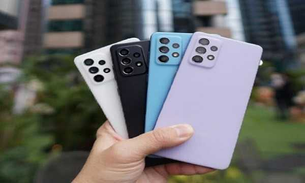телефоны самсунг та52 в разных цветах