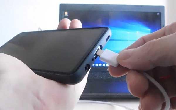 соединить телефон с пк кабелем