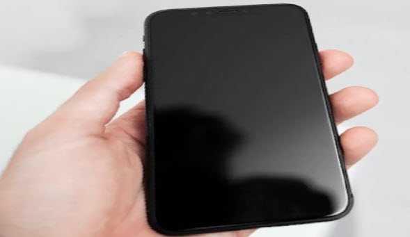 Черный экран на айфон 6