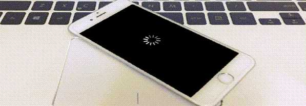 айфон 7 перезагружается