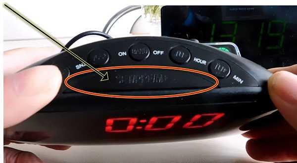 цифровые светодиодные часы на 5 кнопок