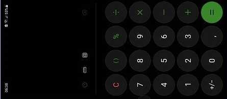 калькулятор самсунг
