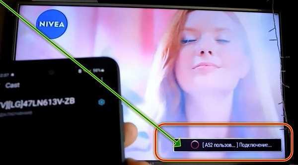 телефон подключается к телевизору