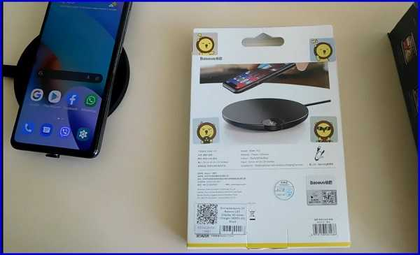 упаковка от зарядного устройства для MI 10t